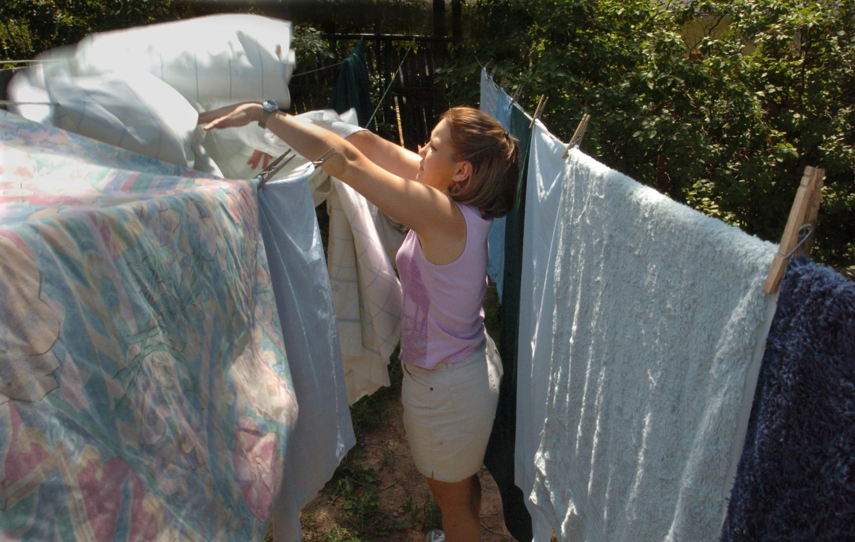 Stay Eco-Friendly with Clotheslines