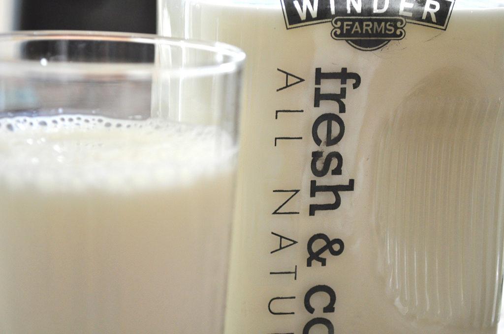 Milk Photo Credit: Roxanne Read (Flickr).