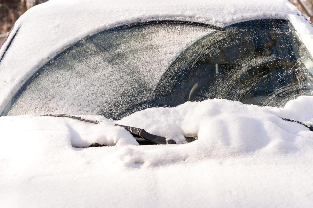 Car Snow Photo Credit: IVYPHOTOS (iStock).