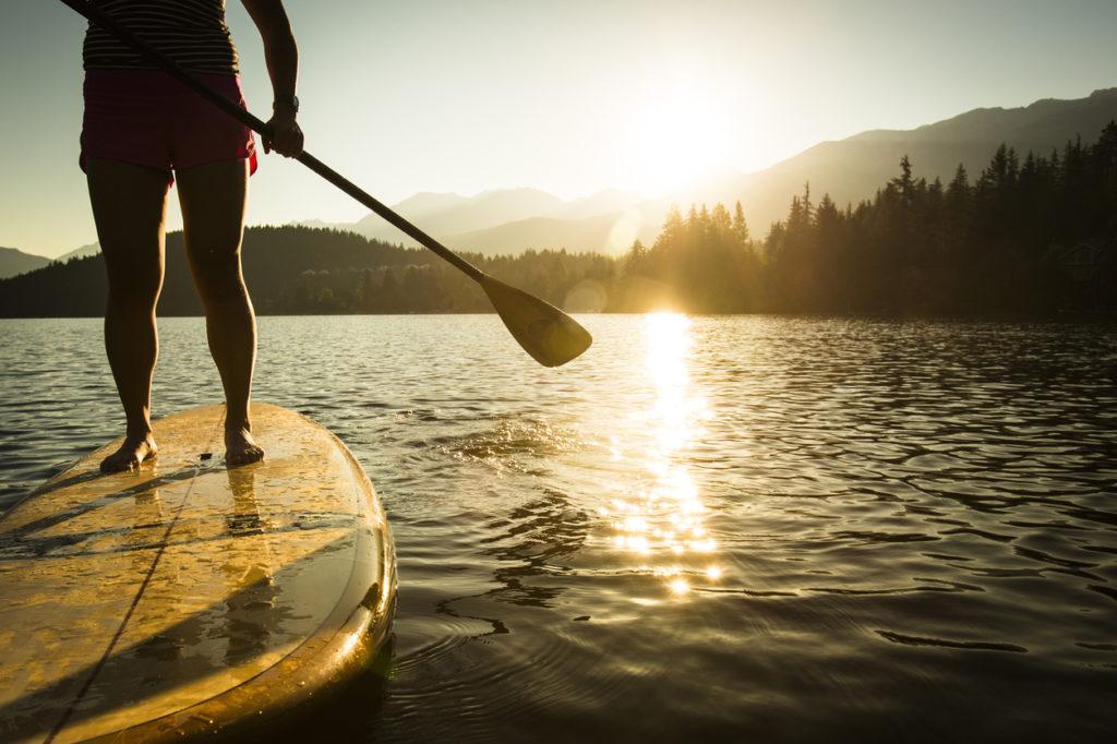Paddle Boarding Photo Credit: VisualCommunications (iStock).
