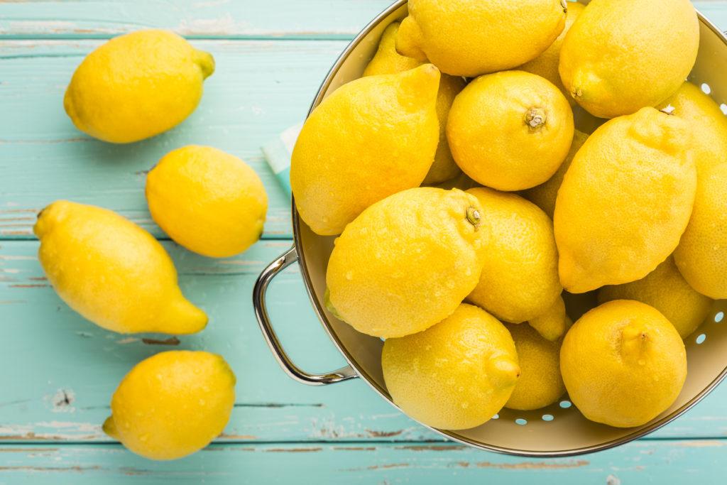Lemon Photo Credit: ellobo1 (iStock).