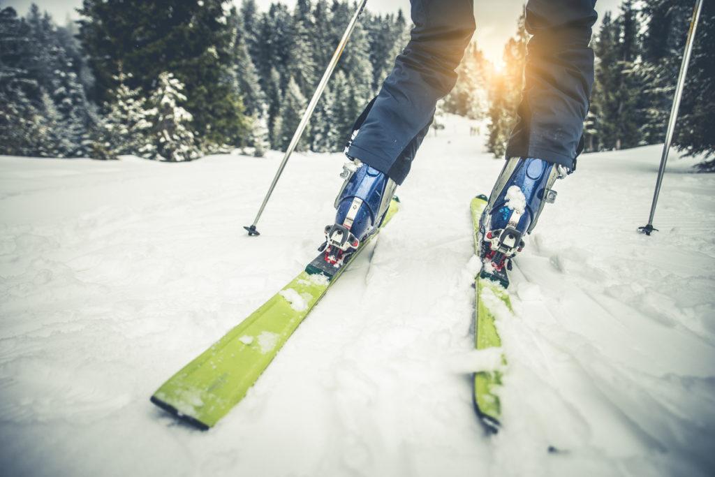 Skiing Photo Credit: oneinchpunch (iStock).