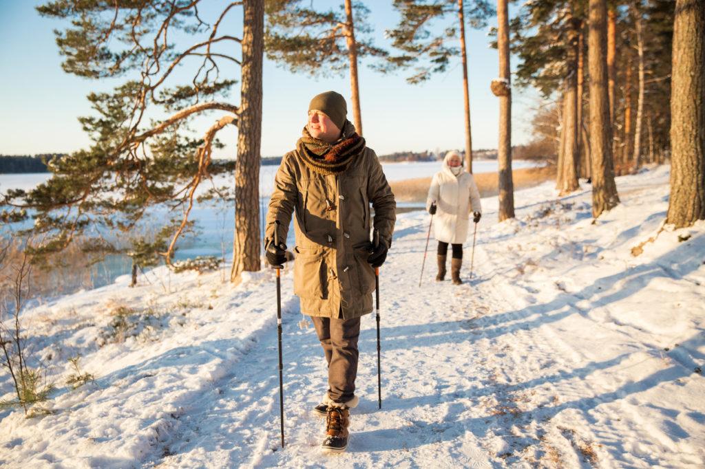 Winter Walking Photo Credit: Sasha_Suzi (iStock).