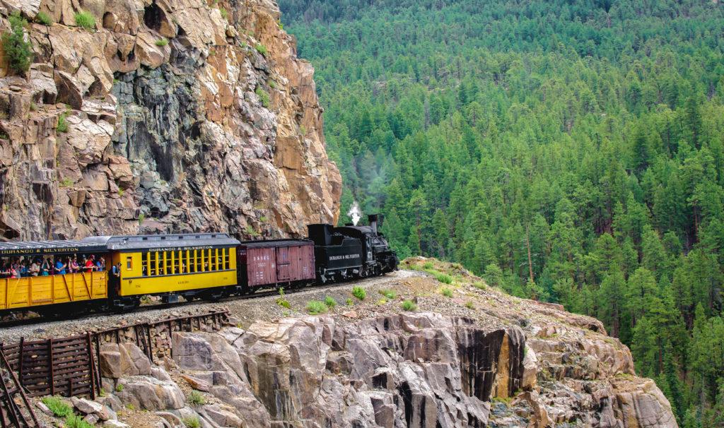 Train Colorado Photo Credit: thittaya itthithepphana (iStock).