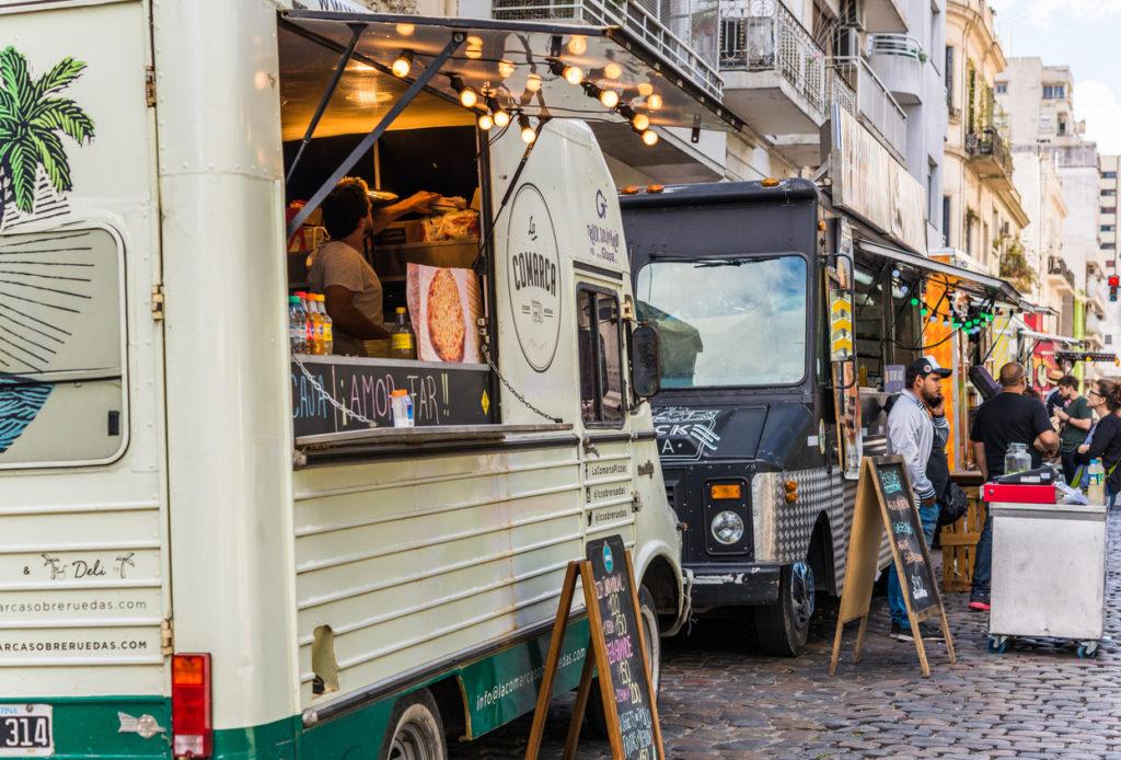 Food Truck Photo Credit: Aleksandr_Vorobev (iStock).