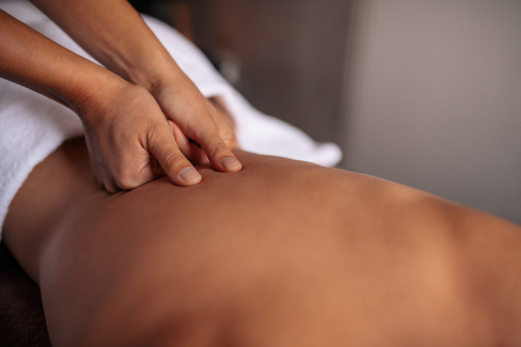 Massage Photo Credit: jacoblund (iStock).