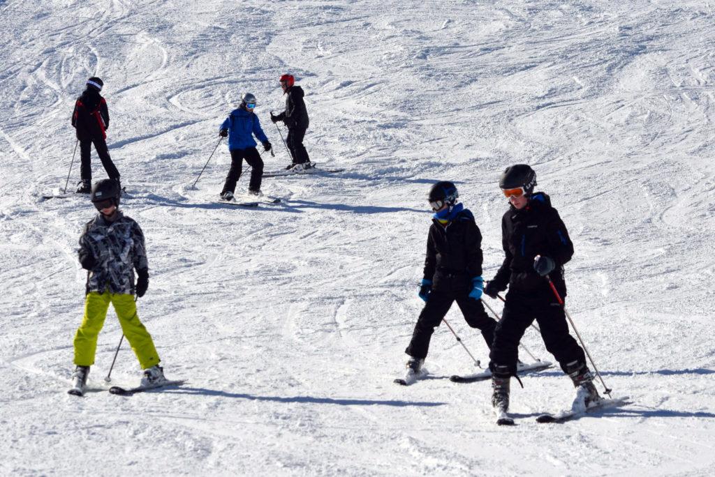 Skiing Photo Credit: Simon Hannaford (Flickr).