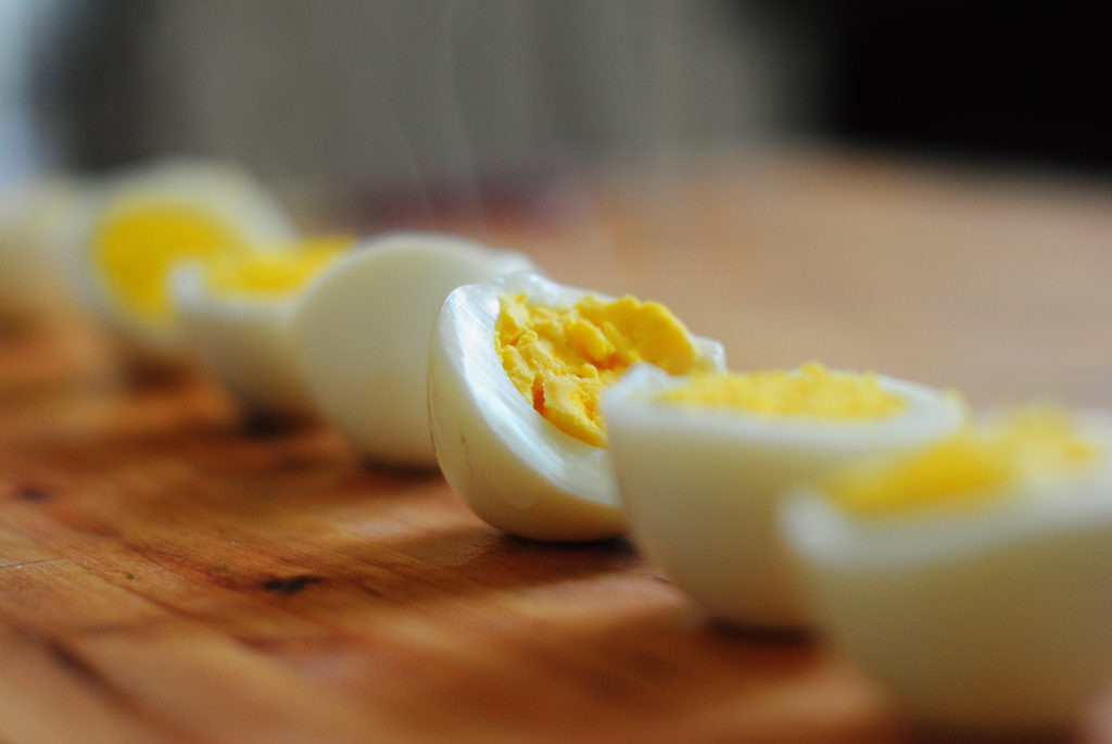 Hard Boiled Eggs Photo Credit: Lisa Williams (Flickr).