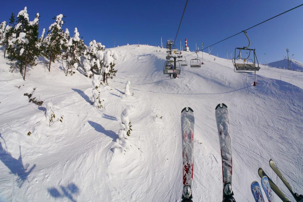 Skiing Photo Credit: Hansenit (Flickr).