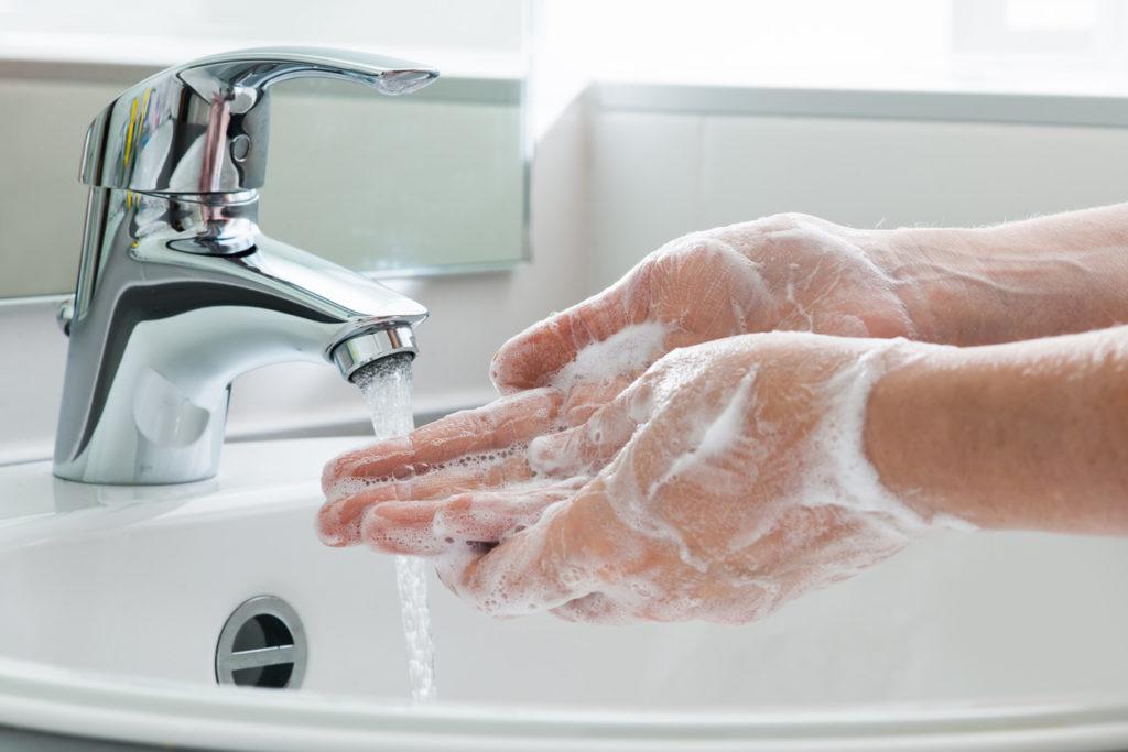 Wash Hands Photo Credit: AlexRaths (iStock).