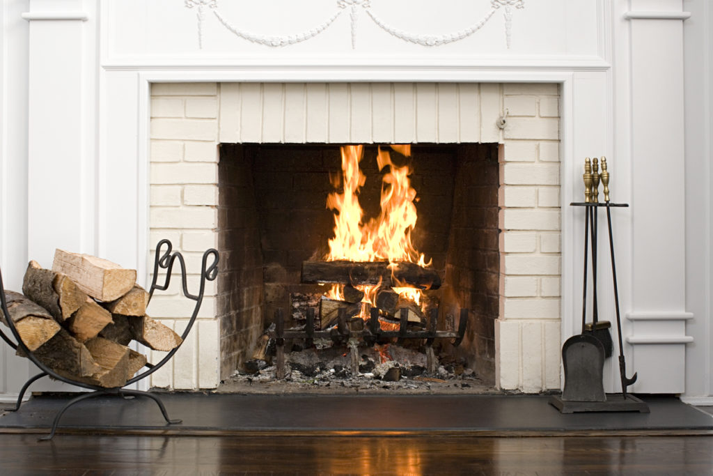 Fire place Photo Credit: Image Source (iStock).