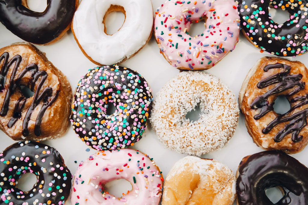 Donuts Photo Credit: EvgeniiAnd (iStock).