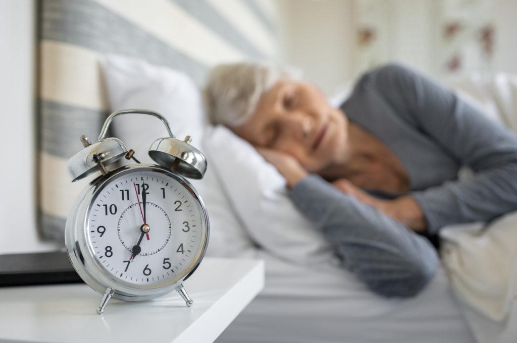 Senior Sleep, Photo Credit: Ridofranz (iStock).
