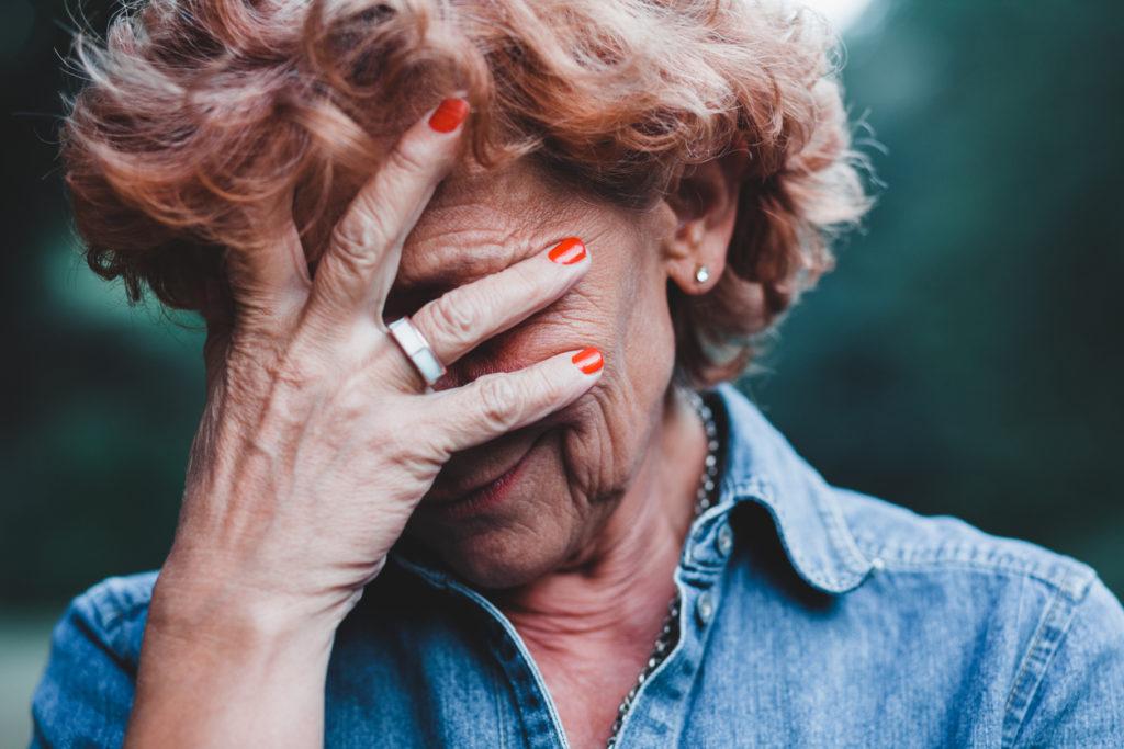 Sadneess, Photo Credit: Marjan_Apostolovic (iStock).